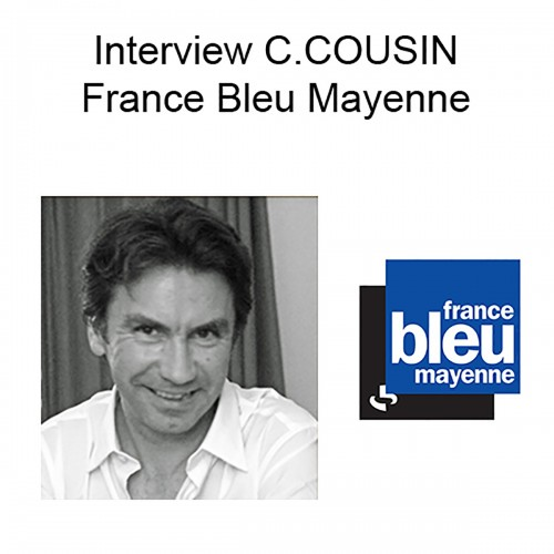 Interview Christophe COUSIN France Bleu Mayenne